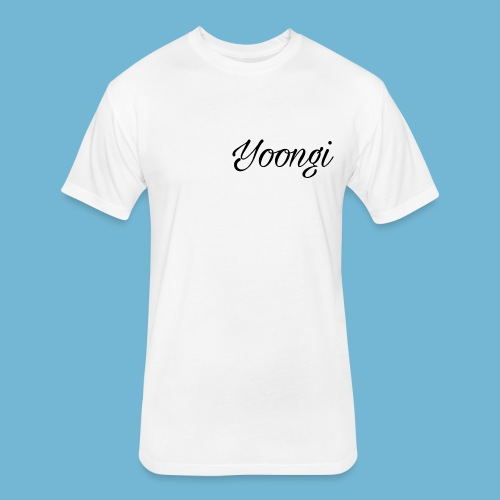 Yoongi T-Shirt - Fitted Cotton/Poly T-Shirt by Next Level
