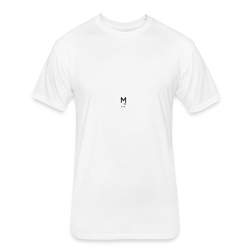 MOONLEE - Fitted Cotton/Poly T-Shirt by Next Level