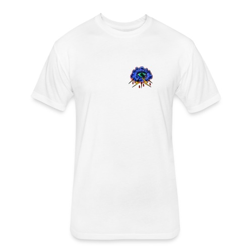 486E9C31 F760 4F66 BAF3 9DABD52C0917 - Fitted Cotton/Poly T-Shirt by Next Level