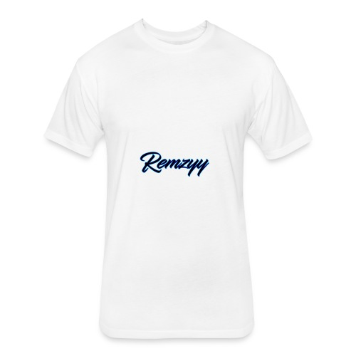 Remzyy Signature - Fitted Cotton/Poly T-Shirt by Next Level
