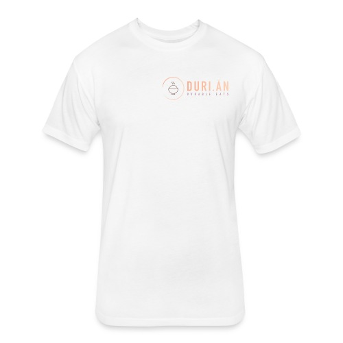 Duri.an - Fitted Cotton/Poly T-Shirt by Next Level