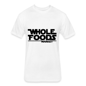 WHOLE_FOODS_STAR_WARS - Fitted Cotton/Poly T-Shirt by Next Level