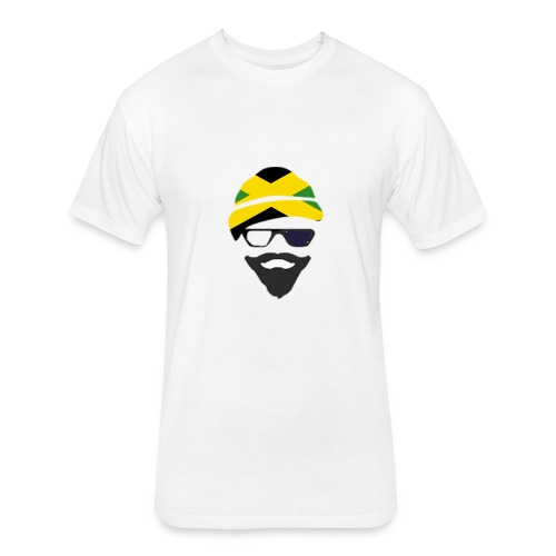 Jamaica Style - Fitted Cotton/Poly T-Shirt by Next Level
