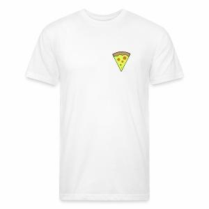 pizza icon - T-shirt ajusté poly/coton pour hommes