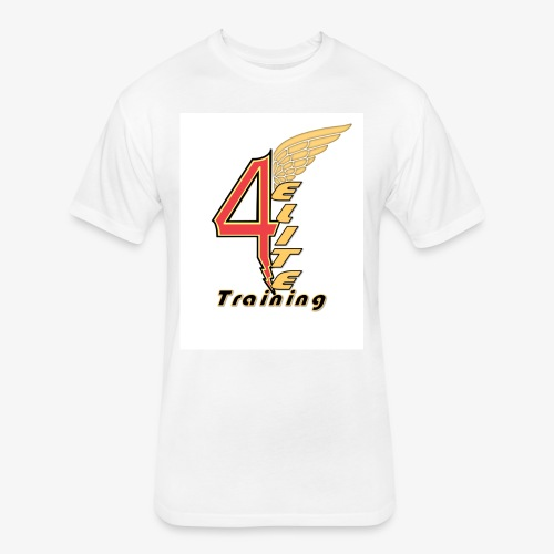 4ELITE - Fitted Cotton/Poly T-Shirt by Next Level