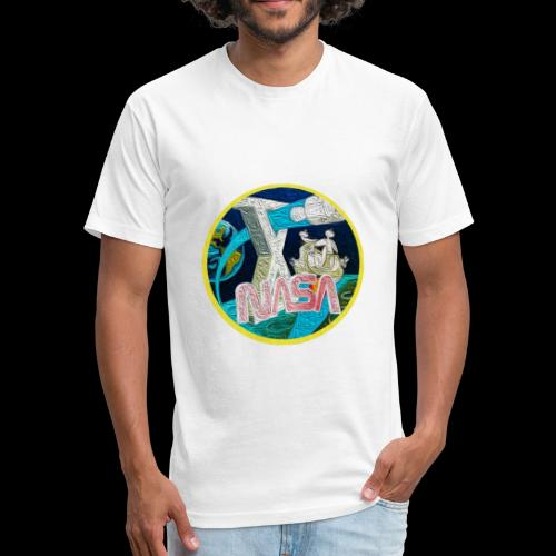 Apollo NASA T-Shirt - Fitted Cotton/Poly T-Shirt by Next Level