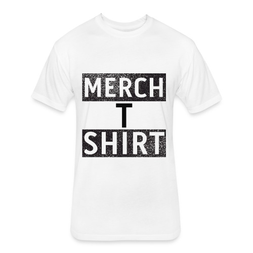 Merch T Shirt - Fitted Cotton/Poly T-Shirt by Next Level