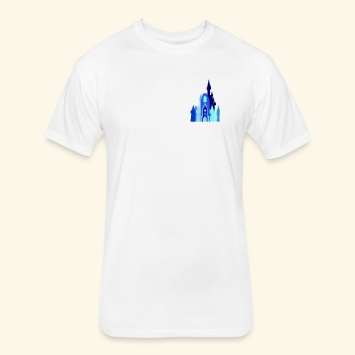 Castle Logo Tee - Fitted Cotton/Poly T-Shirt by Next Level