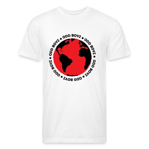 Odd Boyz World - Fitted Cotton/Poly T-Shirt by Next Level