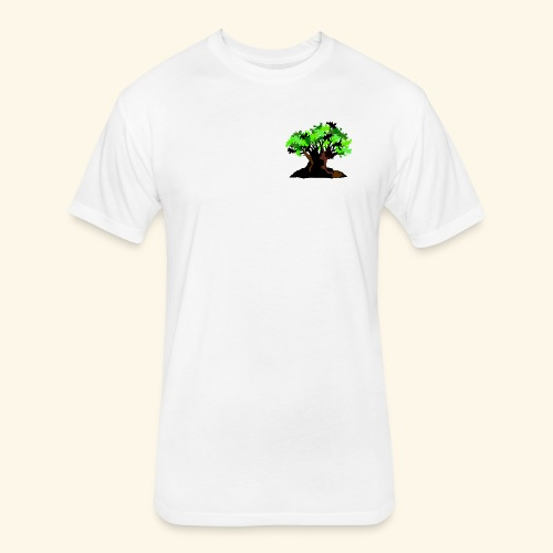 Animal Kingdom logo Tee - Fitted Cotton/Poly T-Shirt by Next Level