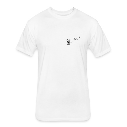 kilt 3 - Fitted Cotton/Poly T-Shirt by Next Level
