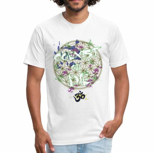 Coexist or die - Fitted Cotton/Poly T-Shirt by Next Level