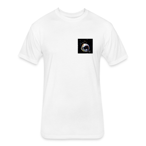 K.S.G Signature Logo - Fitted Cotton/Poly T-Shirt by Next Level