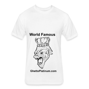 T-shirt-worldfamousForilla2tight - Fitted Cotton/Poly T-Shirt by Next Level