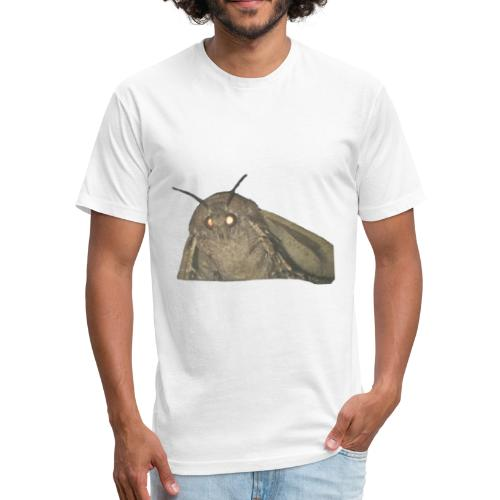 moth meme - Fitted Cotton/Poly T-Shirt by Next Level