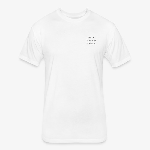 MostWantedGarage - Fitted Cotton/Poly T-Shirt by Next Level