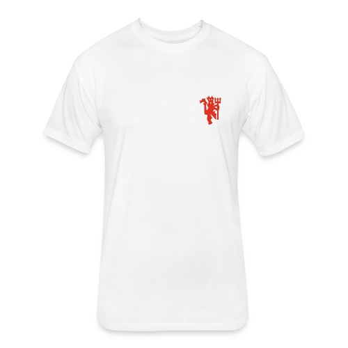 Red Devils - Fitted Cotton/Poly T-Shirt by Next Level