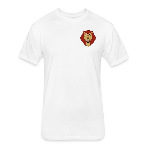 Lion FX Heart - Fitted Cotton/Poly T-Shirt by Next Level