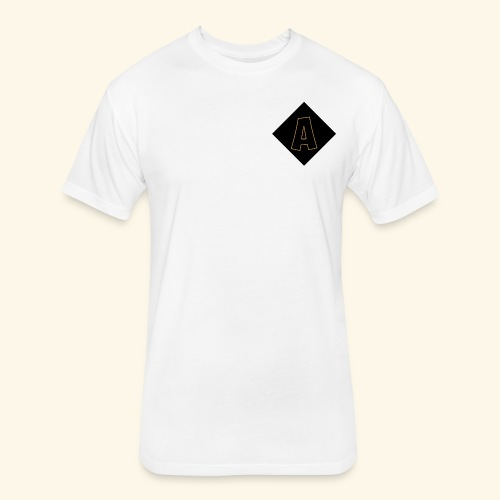 Adoni & Clo Logo - Fitted Cotton/Poly T-Shirt by Next Level