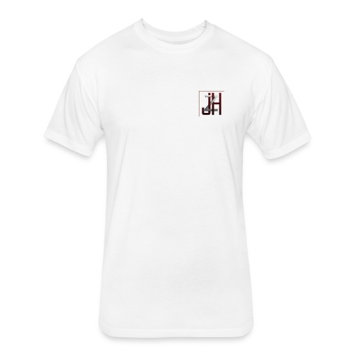 JZH Gaming Logo - Fitted Cotton/Poly T-Shirt by Next Level