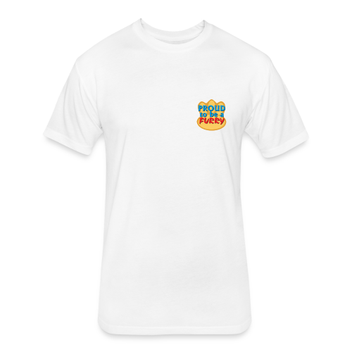 Proud to be a Furry! - Fitted Cotton/Poly T-Shirt by Next Level