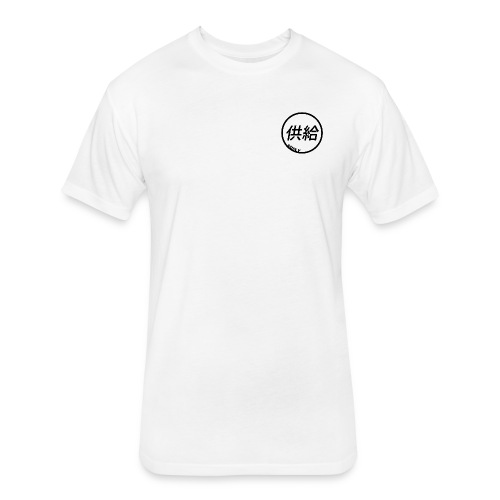 SUPLY/ JAPANESE - Fitted Cotton/Poly T-Shirt by Next Level