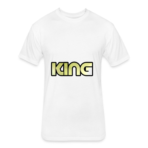 KING ***NEW DESIGN*** - Fitted Cotton/Poly T-Shirt by Next Level