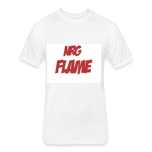 Flame For KIds - Fitted Cotton/Poly T-Shirt by Next Level