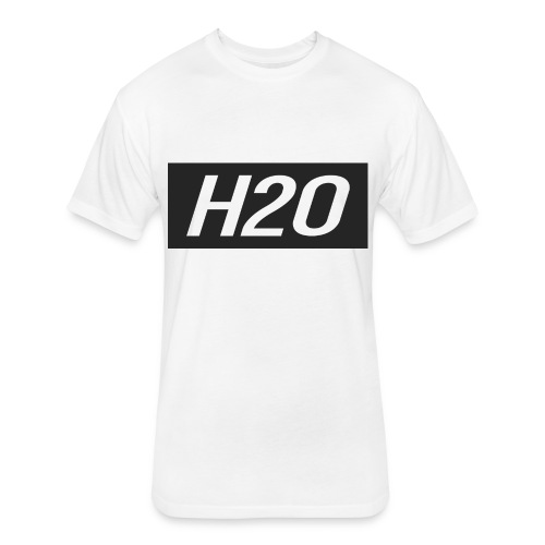 H2O - Fitted Cotton/Poly T-Shirt by Next Level