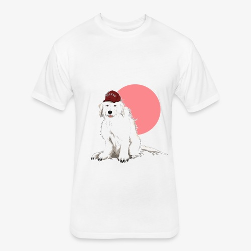 Friend - Fitted Cotton/Poly T-Shirt by Next Level
