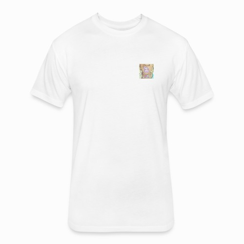 Boss Bxxxx Lips - Fitted Cotton/Poly T-Shirt by Next Level