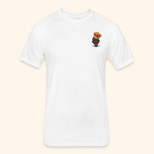 King Rocman - Fitted Cotton/Poly T-Shirt by Next Level