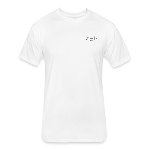 Āto Logo - Fitted Cotton/Poly T-Shirt by Next Level