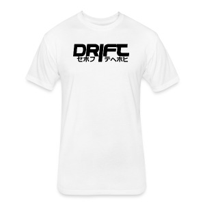Drift JDM Design - Fitted Cotton/Poly T-Shirt by Next Level