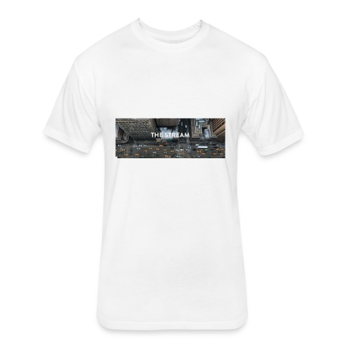 The Stream City - Fitted Cotton/Poly T-Shirt by Next Level
