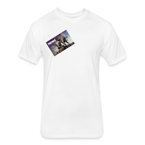 fortn1te - Fitted Cotton/Poly T-Shirt by Next Level