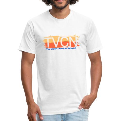 TVCN Sunrise - Fitted Cotton/Poly T-Shirt by Next Level