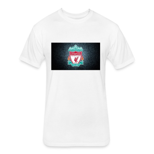 liverpool shirt - Fitted Cotton/Poly T-Shirt by Next Level