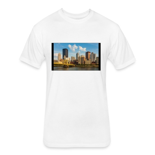 771B77EA D581 4669 9840 08F5BFF6E822 - Fitted Cotton/Poly T-Shirt by Next Level
