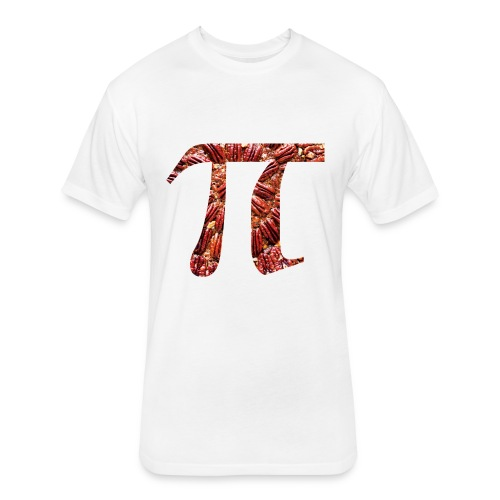 Pecan Pi - Fitted Cotton/Poly T-Shirt by Next Level