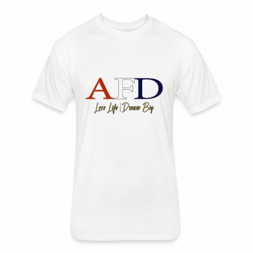AFD Logo - Fitted Cotton/Poly T-Shirt by Next Level