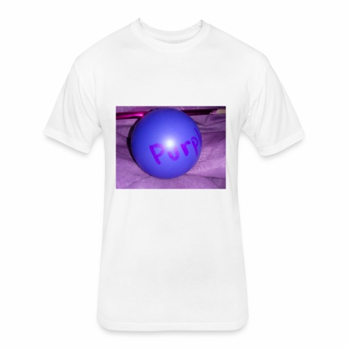 Purple Life !!! - Fitted Cotton/Poly T-Shirt by Next Level