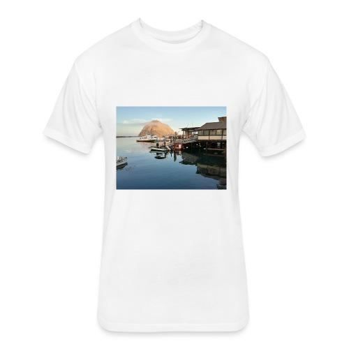 Cali Boat Trip - Fitted Cotton/Poly T-Shirt by Next Level