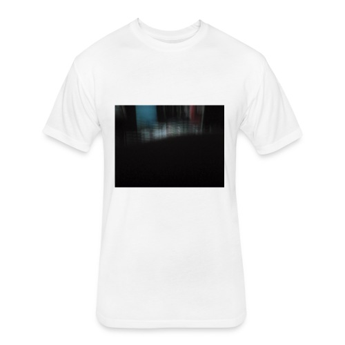 15386002196631487803106 - Fitted Cotton/Poly T-Shirt by Next Level