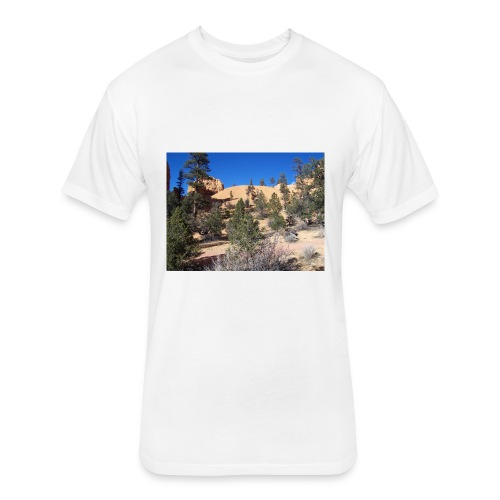 Fool on the Hill - Fitted Cotton/Poly T-Shirt by Next Level