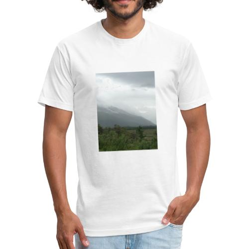 A8285ECD D4BF 4B6A 83BB 01E4F040208D - Fitted Cotton/Poly T-Shirt by Next Level