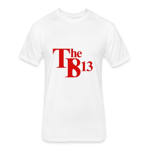 TBisthe813 RED - Fitted Cotton/Poly T-Shirt by Next Level