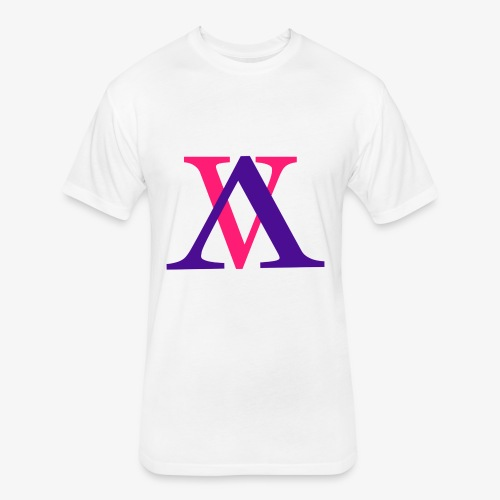 vA - Fitted Cotton/Poly T-Shirt by Next Level