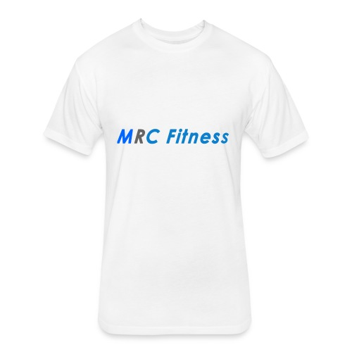 MRC Fitness Logo - Fitted Cotton/Poly T-Shirt by Next Level