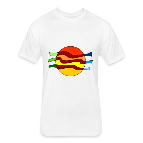 Waves Espinho - Fitted Cotton/Poly T-Shirt by Next Level